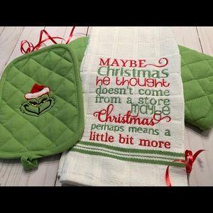 Grinch Christmas set